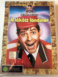 The Bellboy 1960 DVD A lökött londíner / Directed, Produced, and Written by Jerry Lewis / Starring: Jerry Lewis, Alex Gerry, Bob Clayton, Milton Berle