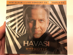 Havasi Balázs - Hypnotic (New Album + Live Concert CD) 2CD / Dupla CD / Audio CD SET 2016 (599956612008)