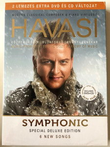 Havasi Balázs - Symphonic Special Deluxe Edition (6 New Songs) - Budafoki Dohnányi Zenekar DVD+CD / Luxury Exclusive Edition (5998618405254)
