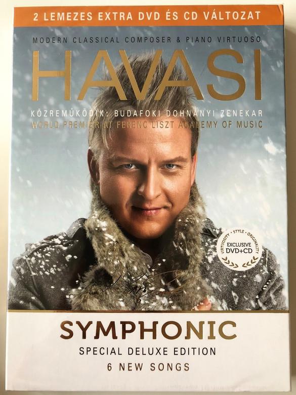 Havasi Balázs - Symphonic Special Deluxe Edition (6 New Songs) - Budafoki Dohnányi Zenekar DVD+CD / Luxury Exclusive Edition (5998618405254)