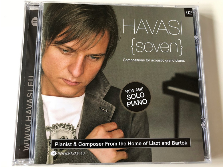Havasi Balázs - Seven - Compositions for Acoustic Grand Piano CD / Pianist & Composer From the Home of Liszt and Bartok (094638338420)