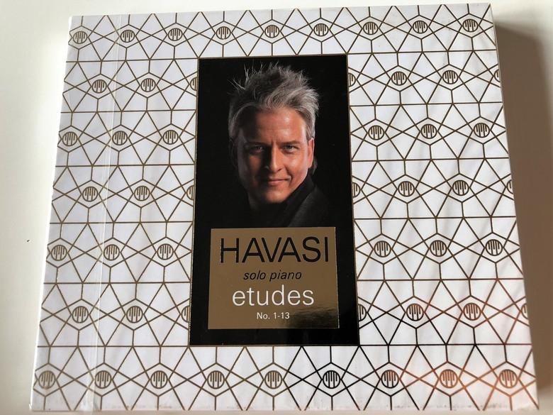 Havasi Balázs - Etudes - Solo Piano No. 1-13 - CD / Symphonic Concert Management Kft. 2015 (5998618405308)
