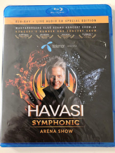Havasi Symphonic Aréna Show - Magyarország első számú koncert Showja / Blu-ray + Live Audio CD (5996818405371)