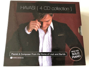 Havasi Balázs - Red / Infinity / Piano / Seven - The Ultimate 4 CD Collection / Symphonic Concert Management Kft. (5998618405346)