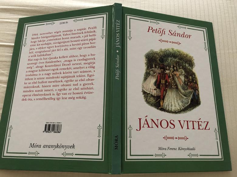Petőfi Sándor - János vitéz / John the Valiant (9789631186086)