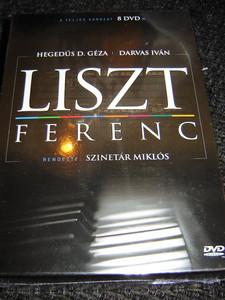 Liszt Ferenc - a teljes sorozat (1982) Complete Hungarian TV-Mini Series (8 DVD Set) / Directed by Szinetár Miklós (5999884941248)