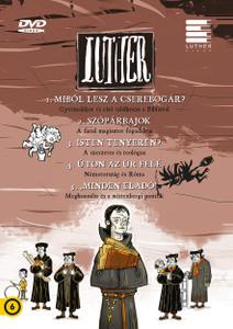 Luther I. Episodes 1-5 DVD 2017 / Author: Lackfi János (Szerző) / Directed by Richly Zsolt (Rendező) / Készült a reformáció kezdetének 500. évfordulójára / Színes magyar animációs film HUNGARIAN