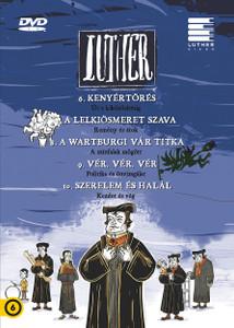 Luther II. Episodes 6-10 DVD 2018 / Author: Lackfi János (Szerző) / Directed by Richly Zsolt (Rendező) / Készült a reformáció kezdetének 500. évfordulójára / Színes magyar animációs film HUNGARIAN