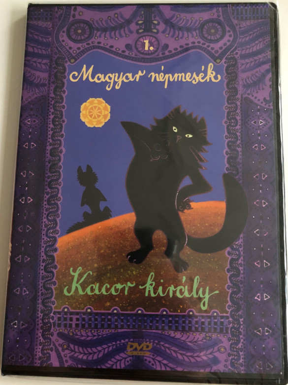 Magyar Népmesék 1. - Kacor király DVD 1977 - 1978 Hungarian Folk Tales for Children / Audio: Hungarian / 13 episodes on disc (5999549905561)