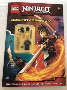 LEGO Ninjago / Dzsinnveszély - Foglalkoztatókönyv Ajándék Minifigurával / LEGO CARTOON with Minifigure Gift (9789634155102)