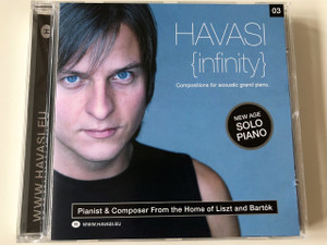 Havasi Balázs -  Infinity CD Compositions for acoustic grand piano / New Age Solo Piano