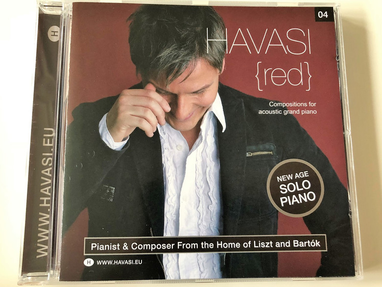 Havasi Balázs - Red CD Compositions for acoustic grand piano / New Age Solo Piano (5099926575124)