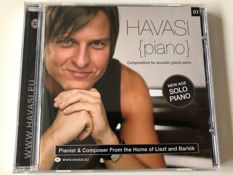 Havasi Balázs - Piano CD Compositions for acoustic grand piano / New Age Solo Piano (0094634654609)