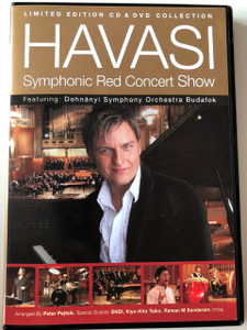Havasi Balázs: Symphonic Red Concert Show LIMITED EDITION CD & DVD / The Fastest Pianist of the World (HavasiRedConcertDVD&CD)