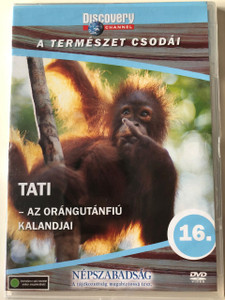Discovery Channel Wonders of Nature: Tati - Orangutans - The High Society DVD 1998 / Audio: English, Hungarian
