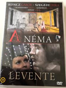 A Néma Levente DVD 1983 /  Actors: Koncz Gábor, Fónay Márta, Sunyovszky Szilvia, Szegedi Erika, Székhelyi József / Director: Szőnyi G. Sándor / Hungarian Film Magyar / Writer: Heltai Jenő