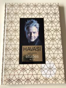 Havasi Balázs: Etudes 1-13 CD with Solo Piano Sheet Music Book - Zongorakotta könyv / Composed by Havasi