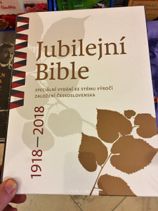 Czech Jubilee Bible 1918-2018 / Jubilejní Bible, ČEP DT, rodinná 1108 / Large Family Bible in the Czech Ecumenical Translation / Pulpit Bible with Thumb Index / Česká biblická společnost