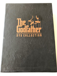 The Godfather 5DVD Collection Collector's Edition Europe / Part 1, 2 & 3 with Special Features Disc / Directed by Francis Ford Coppola / Screenplay by Mario Puzo