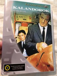 Les Aventuriers 1967 Kalandorok / Alain Delon, Lino Ventura / Region 2 PAL European DVD / Director: Robert Enrico