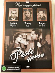 Pesti Mese 1937 / Hungarian Film - Region 2 DVD / Regi Magyar Filmek 25. DVD / Főszerepben: Kabos Gyula, Páger Antal, Turay Ida