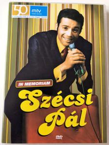In Memoriam Szécsi Pál DVD 2007 / 16 Hits from Hungarian Singer Szécsi Pál / Csak egy tánc volt