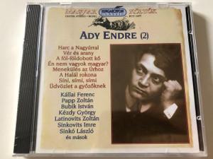 Ady Endre - Magyar költők sorozat , Vol. 2 CD / HCD14277 Hungaroton / Hungarian Poet Series