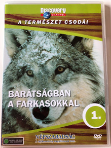 Discovery Channel Wonders of Nature: Barátságban a farkasokkal / Wolves at Our Door DVD 1997 / Audio: Hungarian