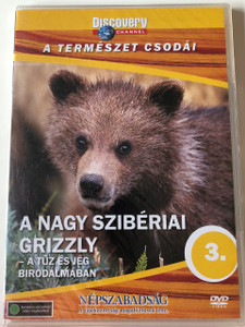 Discovery Channel Wonders of Nature: A Nagy Szibériai Grizzly - A tûz és jég birodalmában / The Great Siberian Grizzly DVD 1997 / Audio: English, Hungarian / Director: Kim MacQuarrie (5998282108659)