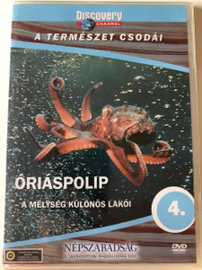 Discovery Channel Wonders of Nature: Óriáspolip - A mélység különös lakói / Octopus DVD 1998 / Audio: English, Hungarian (5998282108666)