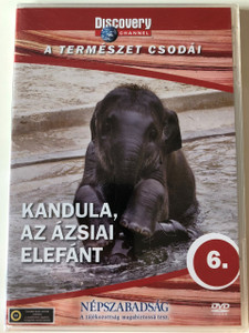 Discovery Channel Wonders of Nature: Kandula - Az ázsiai elefánt / Kandula - An Elephant Story DVD / Audio: English, Hungarian (5998282108680)