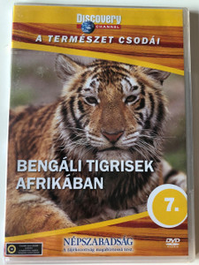 Discovery Channel Wonders of Nature: Bengáli tigrisek Afrikában / Swing With Tigers DVD / Audio: Hungarian