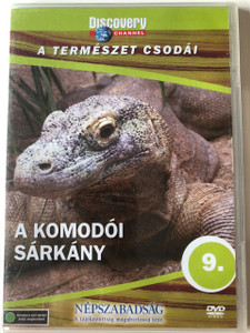 Discovery Channel Wonders of Nature: A komodói sárkány - A túlélés mesterei / Dragons of Komodo DVD / Audio: English, Hungarian (5998282108710)