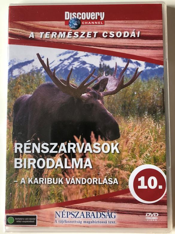 Discovery Channel Wonders of Nature: Rénszarvasok birodalma - A karibuk vándorlása / Return of the Caribou DVD 1997 / Audio: English, Hungarian (5999016370069)