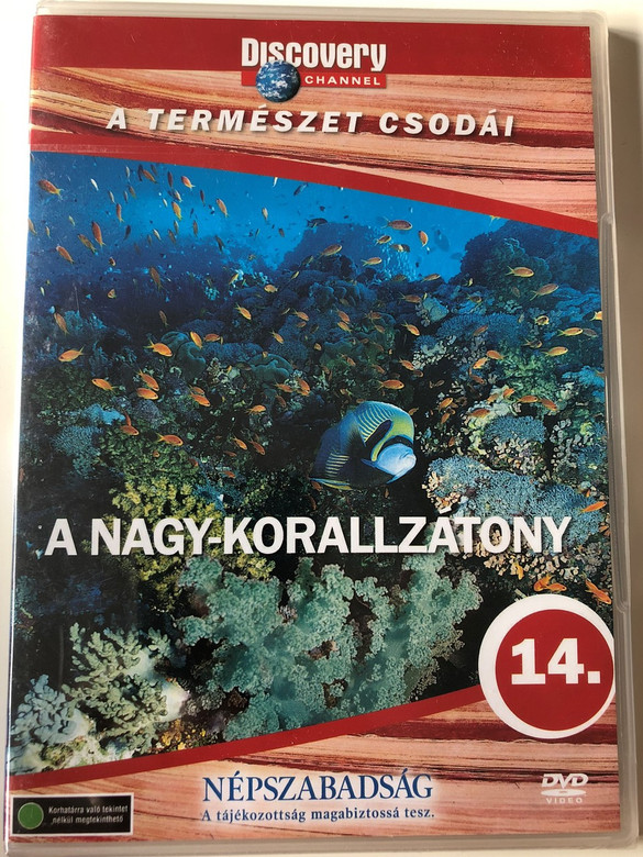 Discovery Channel Wonders of Nature: A Nagy-korallzátony / Great Barrier Reef DVD / Audio: English, Hungarian (5999016370090)