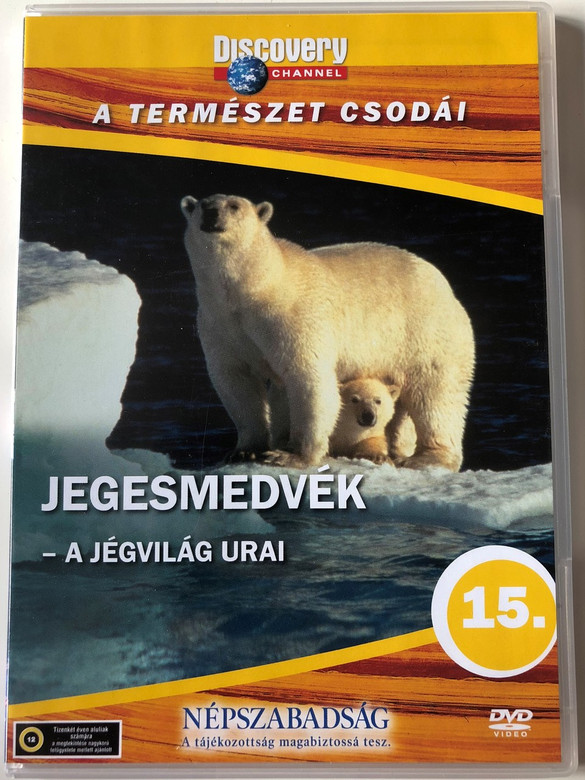 Discovery Channel Wonders of Nature: Jegesmedvék - A jégvilág urai / Polar Bears: Shadow of the Ice DVD 1997 / Audio: English, Hungarian (5998282108772)