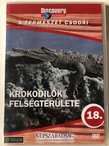 Discovery Channel Wonders of Nature: Krokodilok felségterülete / Crocodile Territory DVD / Audio: English, Hungarian (5998282108802)