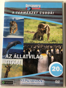 Discovery Channel Wonders of Nature: Az állatvilág titkai / Body By Nature - Secrets of Animals DVD / Audio: English, Hungarian (5999016370120)