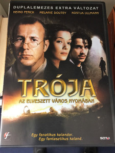 Der geheimnisvolle Schatz von Troja (2007) Troja - Az elveszett varos nyomaban / German and Hungarian Sound Options Only - Region 2 PAL DVD / The Hunt for Troy / Director: Dror Zahavi