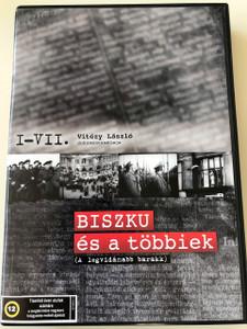 Biszku és a többiek I-VII. DVD 1991 / Complete 4 DVD Collector's Edition / Director: Vitézy László / A legvidámabb barakk / Színes magyar dokumentumfilm 614 perc