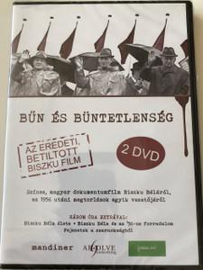 Bűn és büntetlenség DVD Crime Unpunished / Directed by: Novák Tamás, Skrabski Fruzsina / Az eredeti betiltott Biszku Béla film / Audio: Hungarian / Subtitles:  English, German, Polish