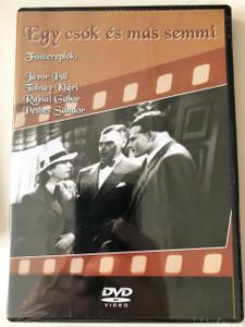 Egy csók és más semmi DVD 1941 / Black and White Hungarian Classic Movie / HUNGARIAN Only Audio
