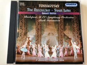 Tchaikovsky: Swan Lake Suite; The Nutcracker Suite CD HCD32243 / Budapest Symphony Orchestra MAV / Conductor: Mark Gorenstein / Hungaroton / MÁV Szimfónikus Zenekar