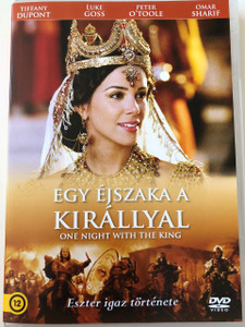 One Night With the King DVD 2006 Egy éjszaka a királlyal / Director: Michael O. Sajbel / Starring: Peter O'Toole, Tiffany Dupont, John Rhys-Davies, Luke Goss, Omar Sharif