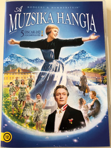 A muzsika hangja DVD The Sound of Music 1965 / Audio: ENGLISH / Subtitles:  Hungarian, English, Czech, Danish, Finnish, Hebrew, Icelandic, Polish, Norwegian, Portuguese, Swedish