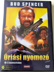 Big Man Episode 2 - Bud Spencer - Az óriási nyomozó DVD 1988 / A hamisítvány / A nevető lány / La fanciualla che ride / The Counterfit / The False Etruscan / Directors: Steno, Lucio De Caro