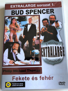 Extralarge - Black and White DVD 1991 Fekete és Fehér Extralarge Sorozat 1. / Audio: English, Hungarian / Bud Spencer, Philip Michael Thomas