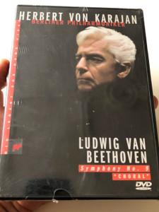 Herbert Von Karajan - Beethoven Symphonies No 9 Choral (1990) DVD / Conductor: Herbert von Karajan / Music: Ludwig van Beethoven / Berliner Philharmoniker / Performer: Franz Grundheber, Ann-Sophie Muller
