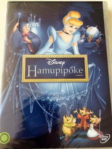 Cinderella - Hamupipőke DVD 1950 / Region 2 - Hungarian Release / Directors: Clyde Geronimi, Hamilton Luske, Wilfred Jackson / Produced by Walt Disney