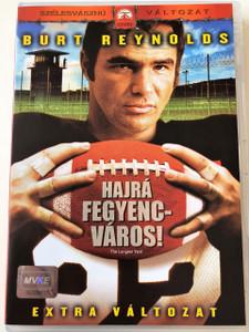The Longest Yard DVD 1974 Hajrá Fegyencváros / Director: Robert Aldrich / Starring: Burt Reynolds, Eddie Albert, Ed Lauter, Michael Conrad